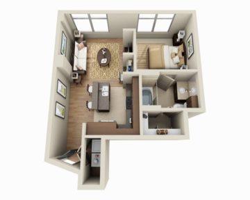 apartment floorplan Colorado