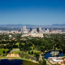 Denver areal photo | City Neighborhood Guide | Vita Apartment Finder