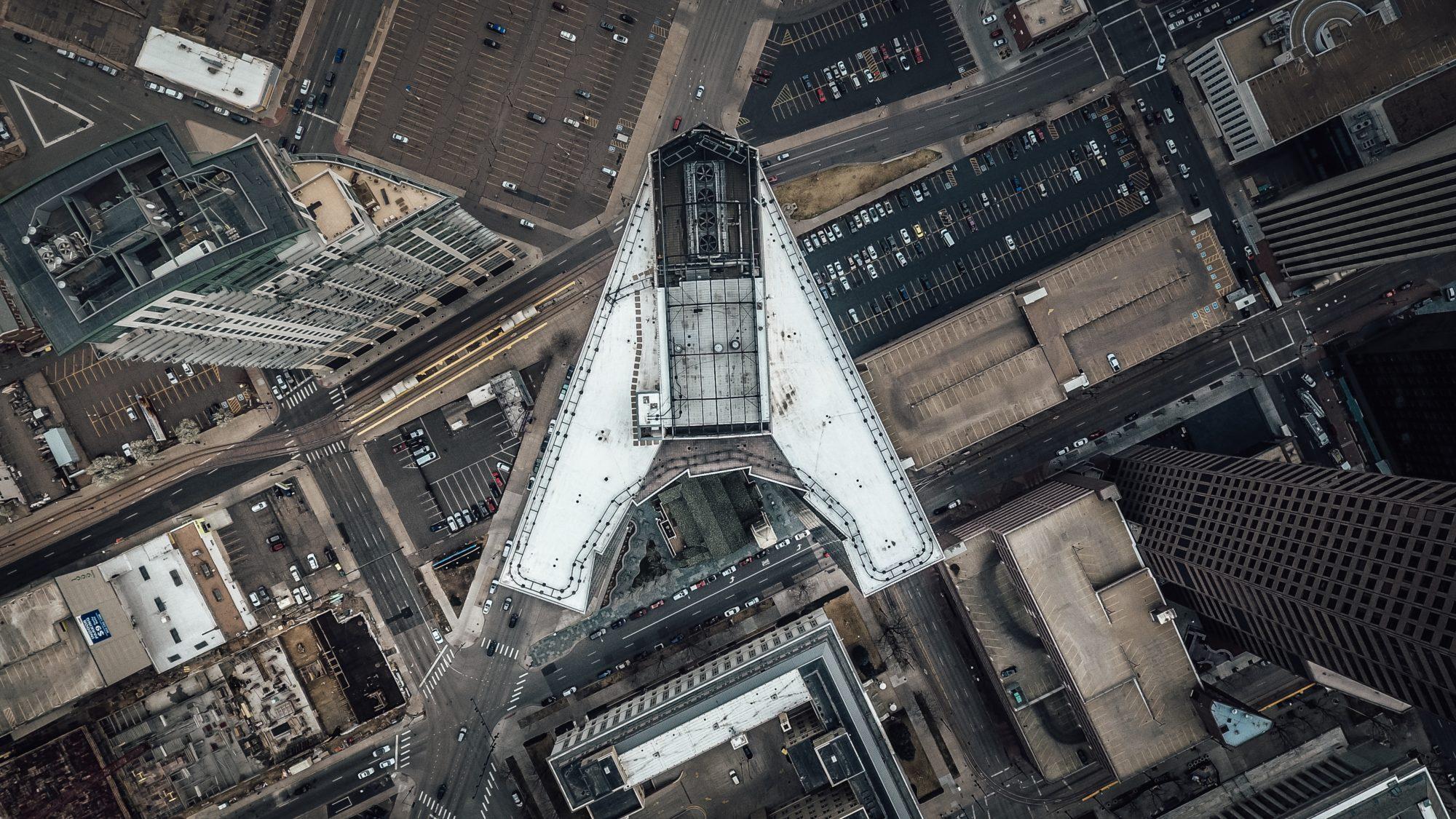 Areal photo of Denver | #1 apartment locators: Vita
