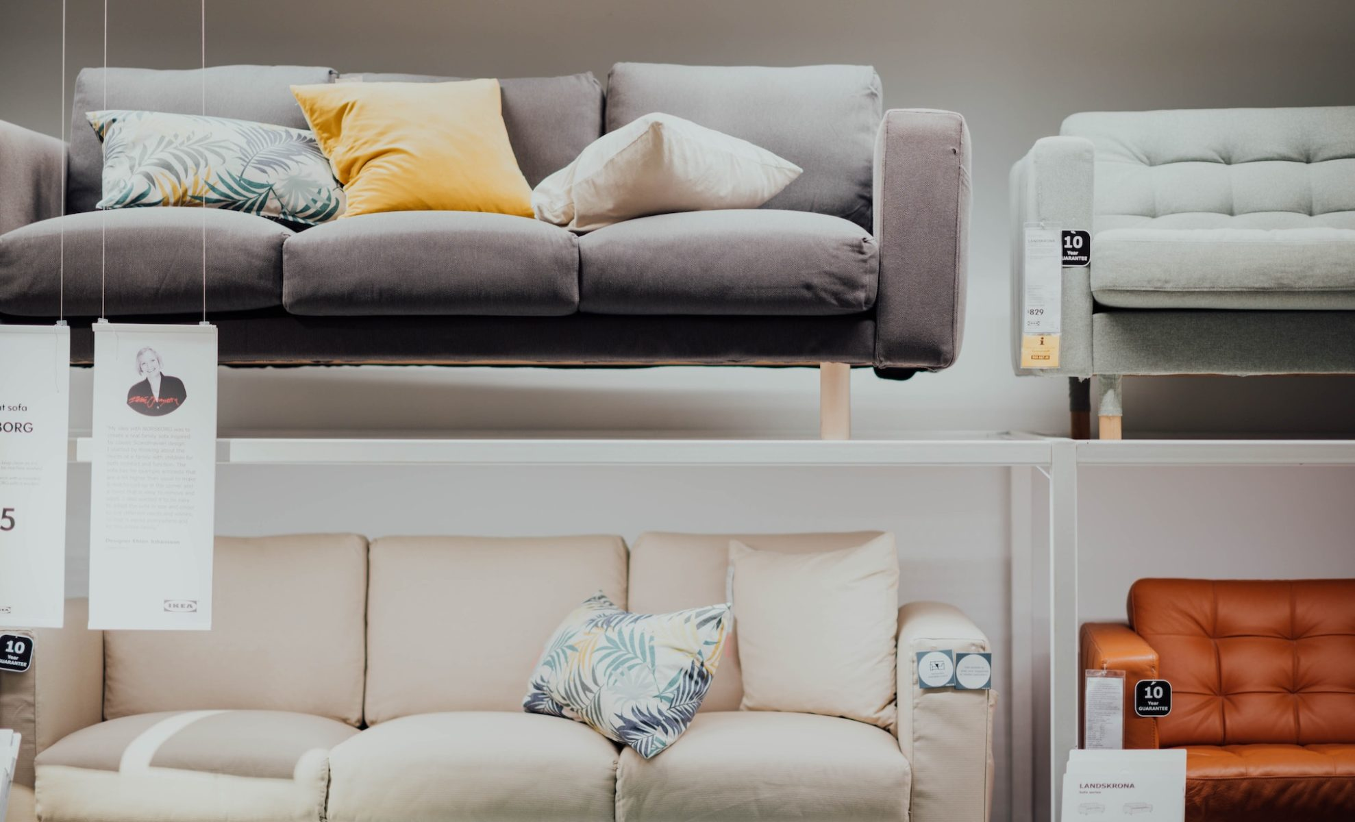 Furniture Shopping | First Apartment Checklist